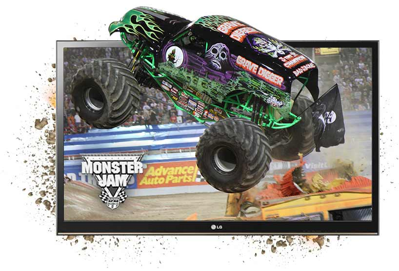 Monster Jam at the Bon Secours Wellness Arena